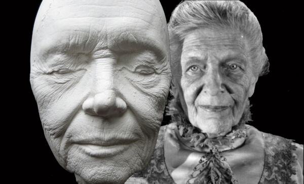 LIbrarian Ghost Life Mask Cast From The First Original Ghostbusters Movie 1984