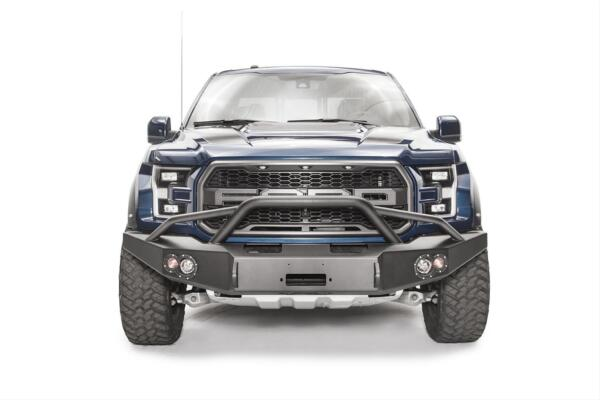 Fab Fours Premium Winch Pre-Runner Bumpers For 17-18 Ford F-150 #FF17-H4352-1