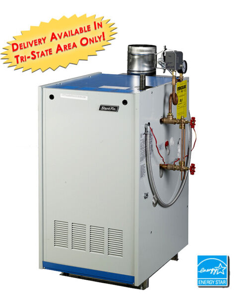 Slant Fin Galaxy GXHA 120 EDPZT Natural Gas Steam Boiler Tankless Heater W Coil $2502.75