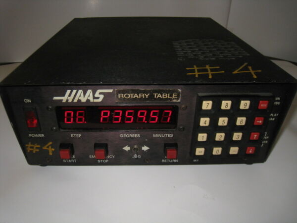 HAAS CONTROL 11 PIN BOX CNC ROTARY TABLE INDEXER NOT TESTED $700.00