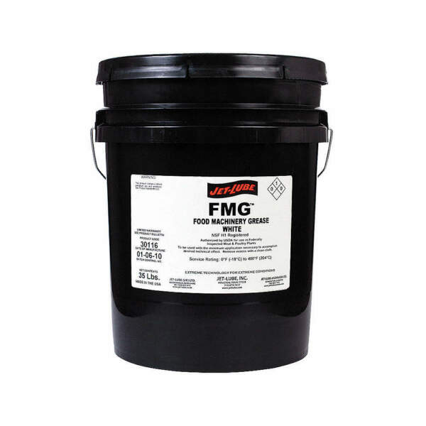 JET-LUBE Food Grade Grease5 Gal. Pail 30116