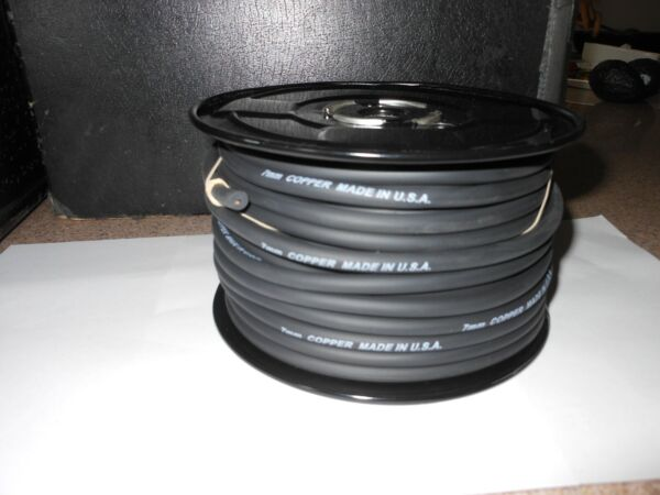 7MM SPARK PLUG WIRE COPPER CORE 100 FOOT ROLL --BULK WIRE NO ENDS
