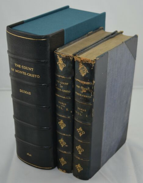 Alexandre Dumas - The Count of Monte-Cristo - First Edition - 1846