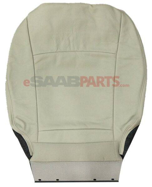 NEW Saab 9-3 Seat Cover - Front Bottom LH/Driver Side (L02 Beige Interior) OEM