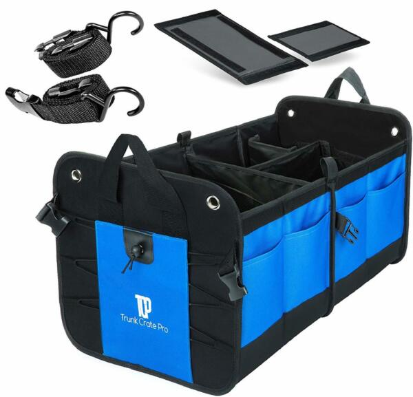 Collapsible Trunk Organizer Heavy Duty Truck SUV Grocery Storage Cargo Crate New