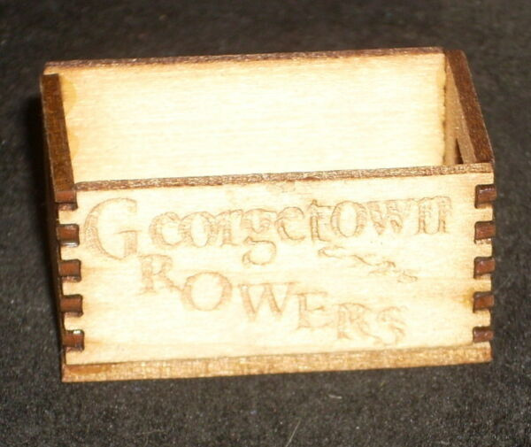Dollhouse Miniature Georgetown Produce Crate 1:12 Farm Food Market Store Grocery