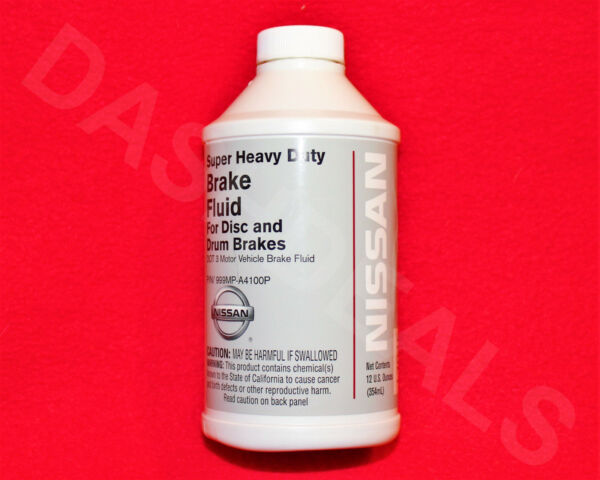 1 Bottle GENUINE Infiniti & Nissan BRAKE FLUID 12 fl. oz OEM