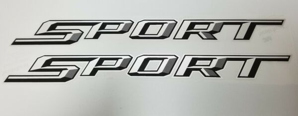 Pair Sport Decals for 17-18 Ford F150 or other Makes TOP QUALITY
