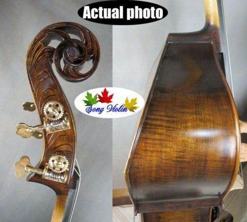 Hand-made Professional Song master flat back Bass-Upright 34 doulbe bass