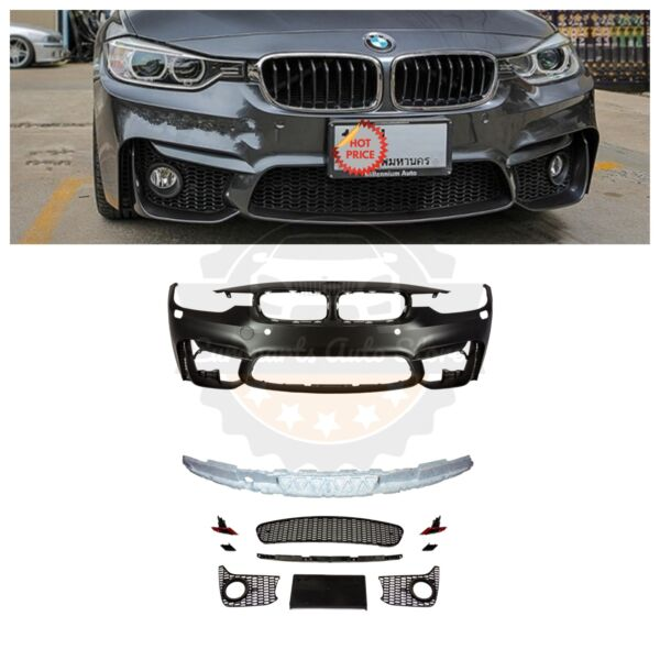 2012-18 F80 M3 STYLE FRONT BUMPER FOR BMW F30 F31 3 SERIES SEDAN