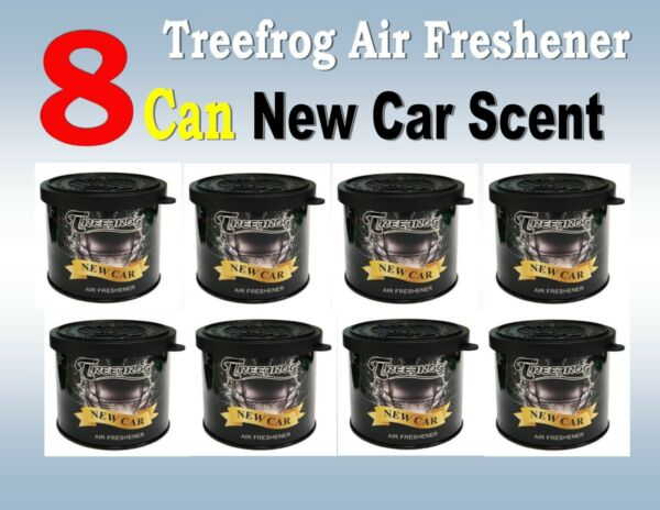 8 Can Treefrog NEW CAR Scent  Air Freshener