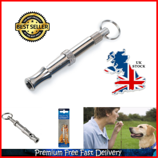 Pet Dog Control Training Whistle Simple Pitch Control High Frequency Long Range