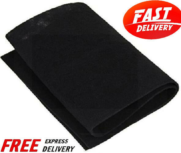 Carbon Pad Filter Cut To Fit Sheet Purifiers Charcoal Furnace Odor Remover Aid $11.80