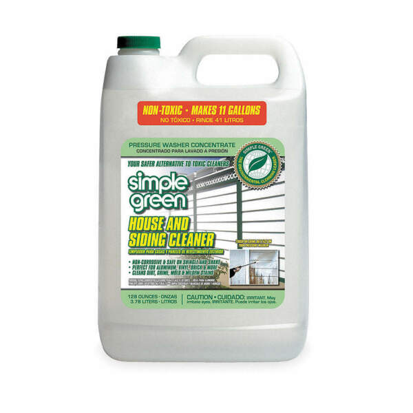 SIMPLE GREEN House and Siding Cleaner,1 gal., 2310000418201