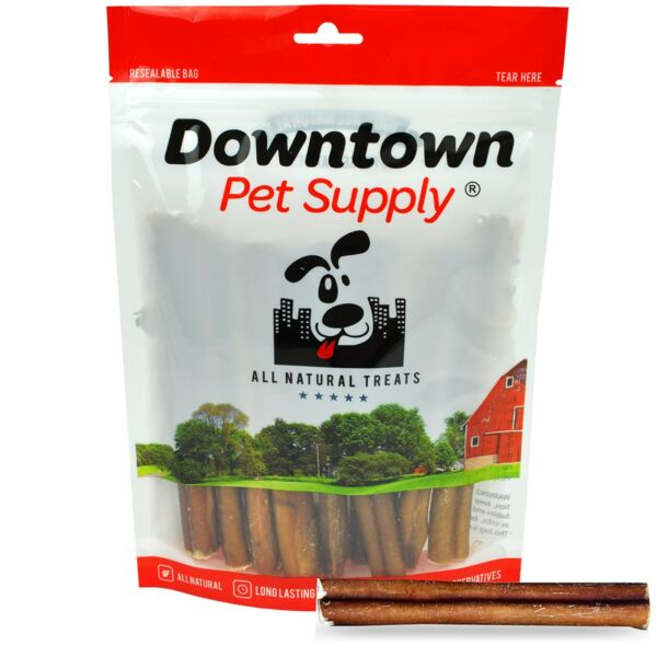 6quot; inch THICK BULLY STICKS Natural Dog Treats Chews USDA amp; FDA Approved $19.99