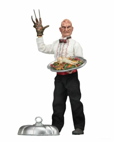 "Nightmare on Elm Street Part 5 - 8"" Clothed Action Figure - Chef Freddy - NECA"