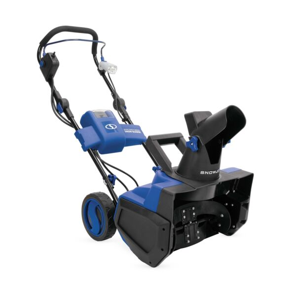 Snow Joe iON Cordless Single Stage Snow Blower 18 Inch 40 Volt Brushless