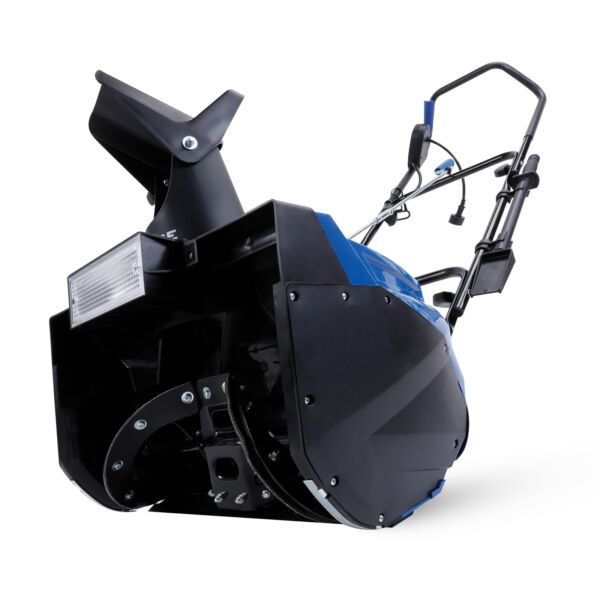 Snow Joe Electric Single Stage Snow Thrower  18-Inch  15 Amp  Headlights