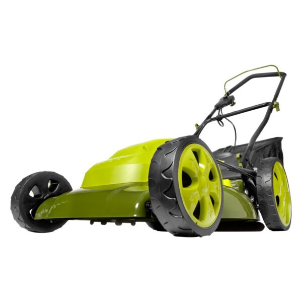 Sun Joe Electric Lawn Mower 20 inch 12 Amp 7 Position Height Adjustment $179.00
