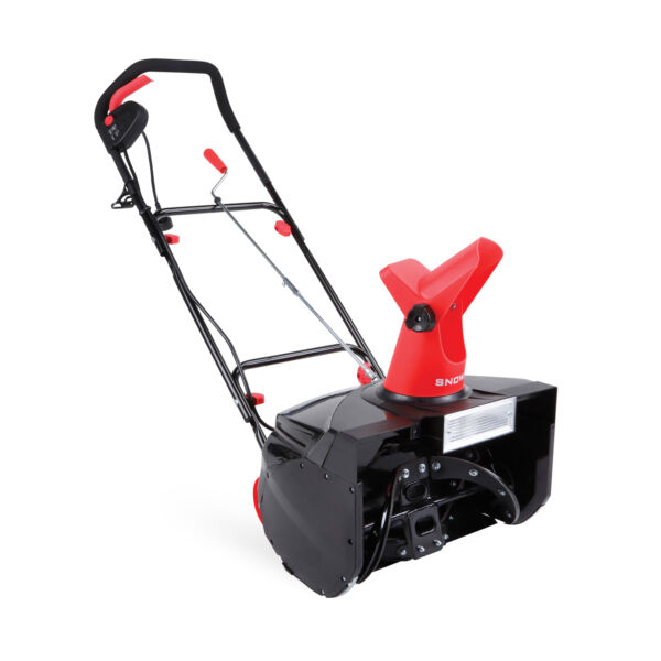 Snow Joe Electric Single Stage Snow Thrower  18-Inch  13.5 Amp  Headlights