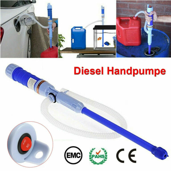 Electric Water Pump Liquid Transfer Gas Oil Siphon Battery Operated Pumps NEW $10.59