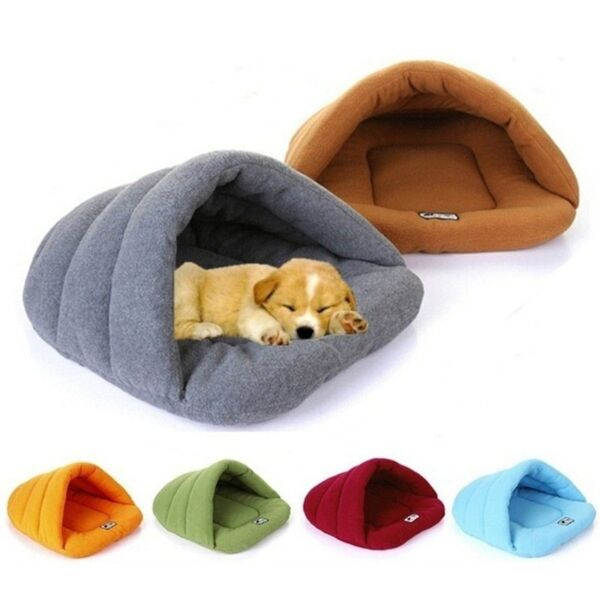 small dog sleeping bag bed Pet Cat Small Dog Puppy in sleeping bag Winter $12.75