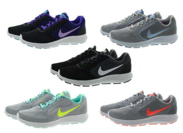 Nike 819303 Womens Revolution 3 Low Top Running Training Athletic Shoes Sneakers