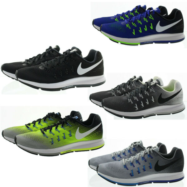 Nike 831352 Mens Zoom Pegasus 33 Lightweight Active Running Shoes Sneakers