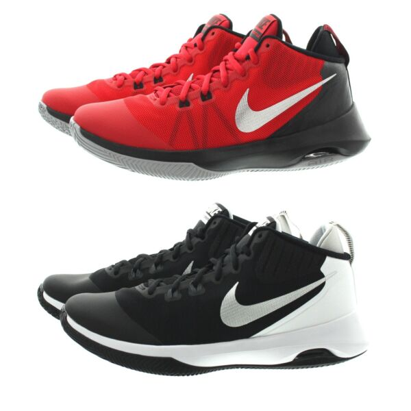 Nike 852431 Mens Air Versatile Mid Top Basketball Training Shoes Sneakers