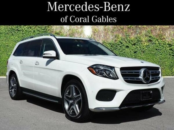 2017 Other GLS 550 2017 Mercedes-Benz GLS GLS 550 15645 Miles White Sport Utility Twin Turbo Premiu