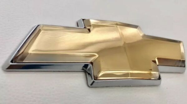 2006 2016 Chevy Impala amp; Monte Carlo Front or Rear Grille Bowtie Emblems Gold