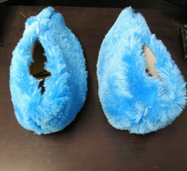 Cookie Monster Adult Mascot Costume Blue SHOES Outfit Birthday Party Halloween