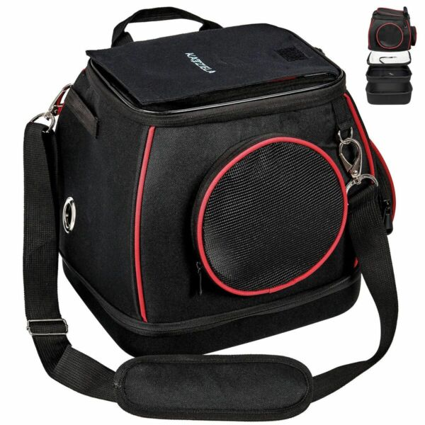 Katziela Expandable Bottom Pet Carrier Shoulder Bag for Small Dogs and Cats $49.99