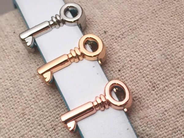 Key Slide Charms for 10mm Slide Keep Bracelet $3.99