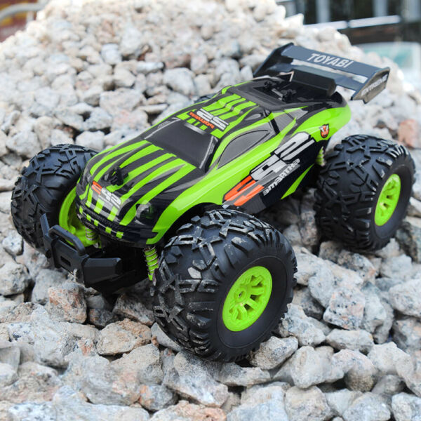 TOYABI Large Remote Control RC Kids Big Wheel Toy Car Monster Truck - 2.4 GHz 6V
