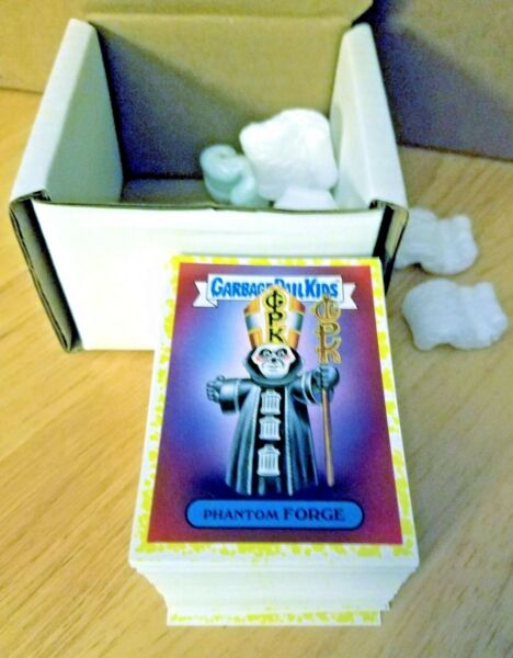 GARBAGE PAIL KIDS 2017 BATTLE OF THE BANDS COMPLETE 180 CARD SET PHLEGM YELLOW