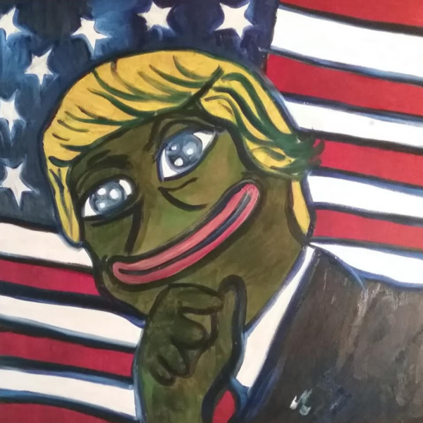 Oil Painting - Trumpepe - 2018 - The Artist Jessica Logsdon