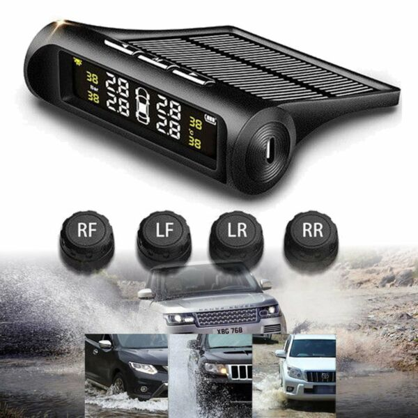 Car Wireless  Tire Pressure Monitor System+4 Sensors LCD Display For Opel