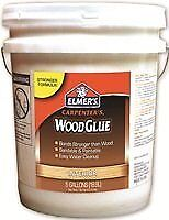 NEW ELMERS Product 5 Gallon Yellow Pail Carpenter's Interior Wood Glue (E706)