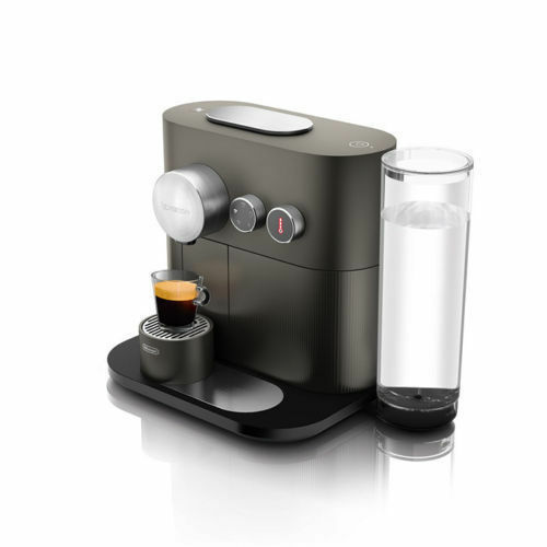 DeLonghi Expert EN350.G Nespresso Capsule Coffee Machine Anthracite Gray