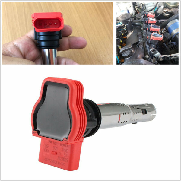 Red Ignition Coil high quality Durable