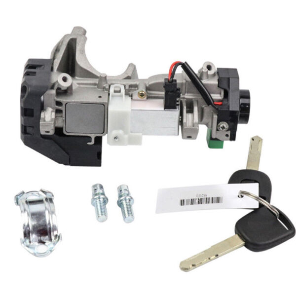 Ignition Switch Cylinder Lock Auto Trans For 2003-2007 Honda Accord W2 KEYS USA