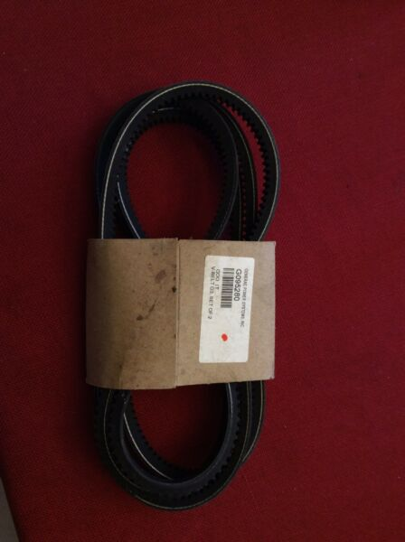 Generac Parts: OEM G095280 V Belt G3 Set of 2