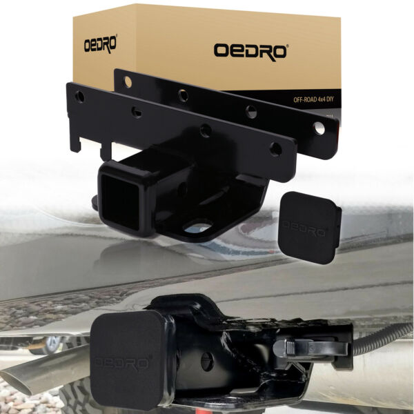 OEDRO 2quot; Tow Trailer Hitch Receiver fit for 07 18 Jeep Wrangler JK 2 amp; 4 Door $35.99
