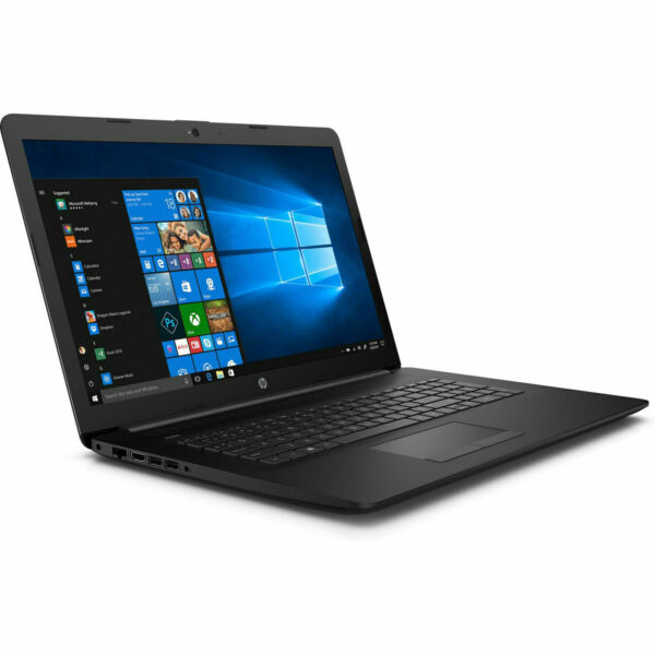 HP Notebook 17 Zoll HD+ AMD A6 2x 3,0GHz 4GB 1TB Win10 / Office 2018 DVD RW