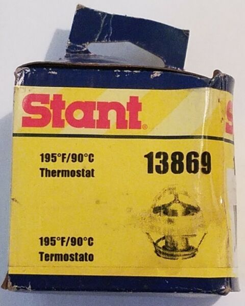 STANT 13869 Engine Coolant Thermostat-OE  - 195 Degrees Fahrenheit
