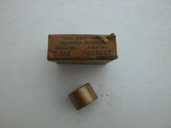 1940-1942; CHEVROLET CAR & 1/2 TON TRUCK - NOS U-JOINT YOKE TRUNNION BUSHING