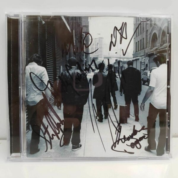 Anybody Out There? by Burlap to Cashmere CD Signed By Band