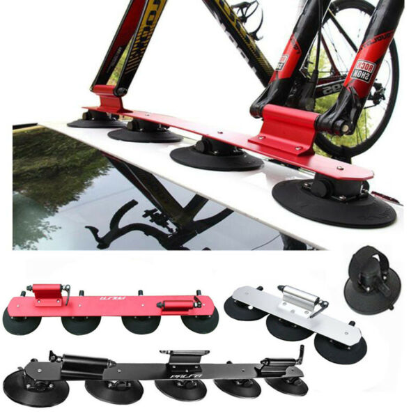 Bike Rack for Car Quick Installation 3 Bike Suction Roof Top Car Bicycle Racks $217.99