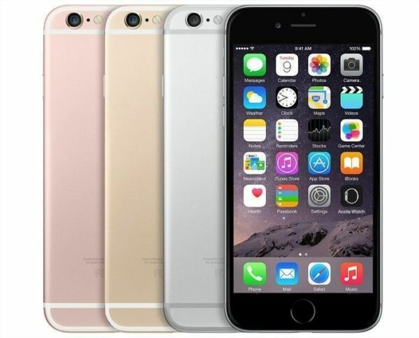 Apple iPhone 6S GSM Unlocked 4G LTE iOS Smartphone